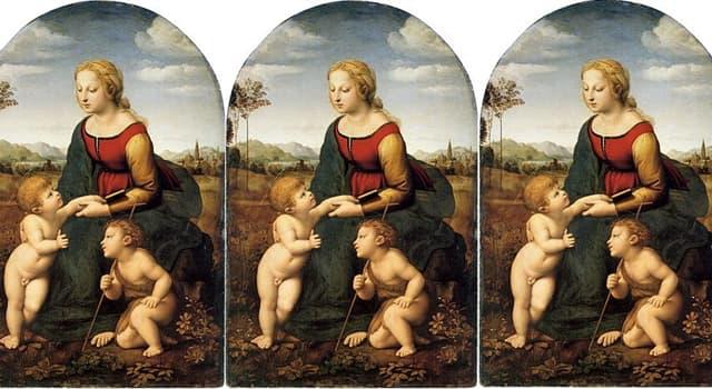 """Cultura Pregunta Trivia: ¿Quién es el autor del cuadro llamado """"La bella Jardinera""""?"""