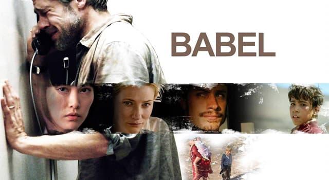Películas Pregunta Trivia: ¿Quién es el director de la película Babel (2006)?