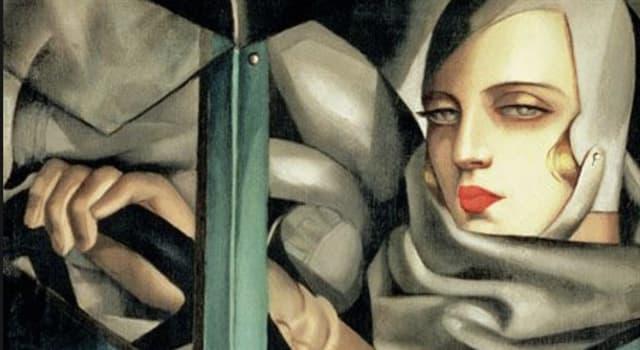 """Cultura Pregunta Trivia: ¿Quién es la autora del cuadro """"Autorretrato en el Bugatti verde"""" que aparece en la imagen?"""