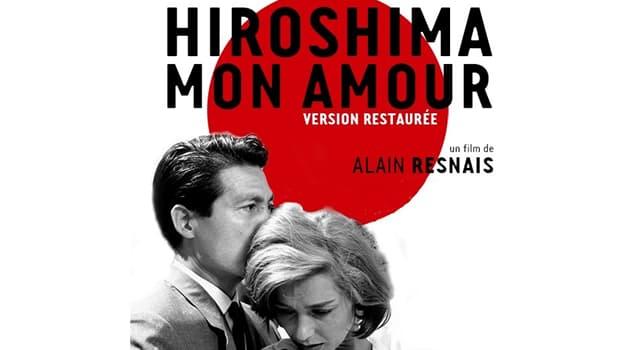 """Películas Pregunta Trivia: ¿Quién escribió el libro y el guión de """"Hiroshima mon amour""""?"""