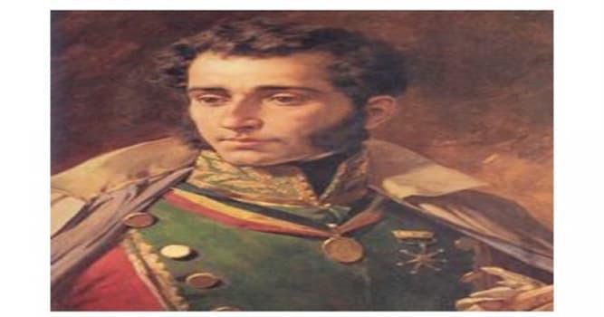 Historia Pregunta Trivia: ¿Quién fue Antonio José de Sucre?