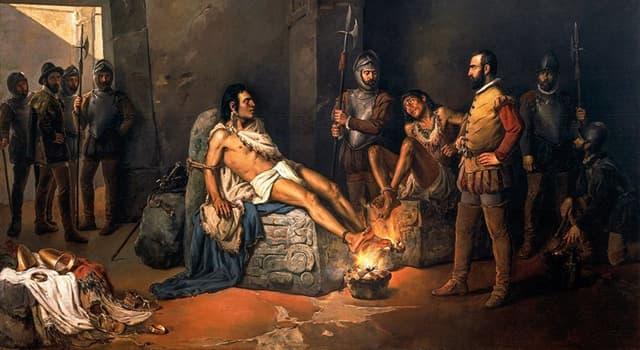 Historia Pregunta Trivia: ¿Quién fue el último emperador de los aztecas?