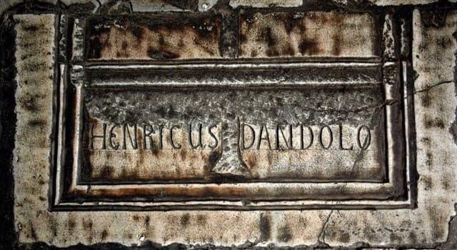 Historia Pregunta Trivia: ¿Quién fue Enrico Dandolo?