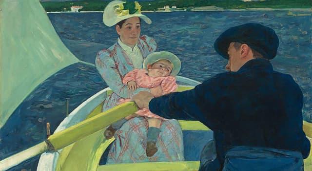 """Cultura Pregunta Trivia: ¿Quién fue la autora de los cuadros """"Niña en sillón azul"""" y """"Paseo en bote""""?"""