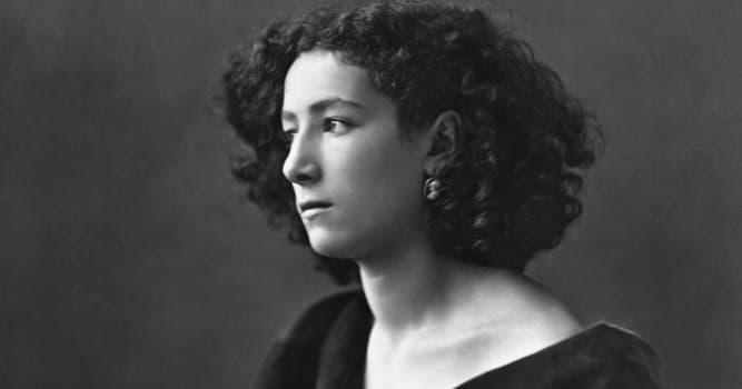 Cultura Pregunta Trivia: ¿Quién fue Sarah Bernhardt?