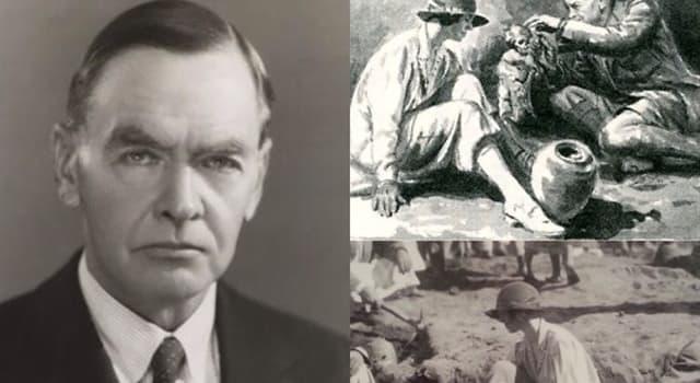 Historia Pregunta Trivia: ¿Quién fue Sir Charles Leonard Woolley?