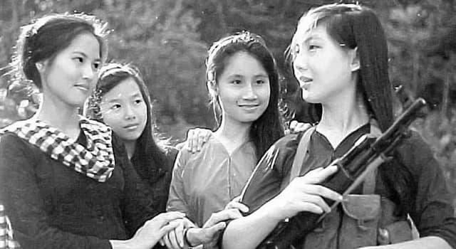 Historia Pregunta Trivia: ¿Quiénes integraban la organización guerrillera del Viet Cong en la guerra de Vietnam?
