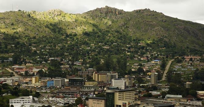 Geografía Pregunta Trivia: ¿Qué país tiene a la ciudad de Mbabane como capital?
