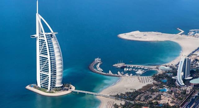 Geografía Pregunta Trivia: ¿En qué país se encuentra el hotel Burj Al Arab?
