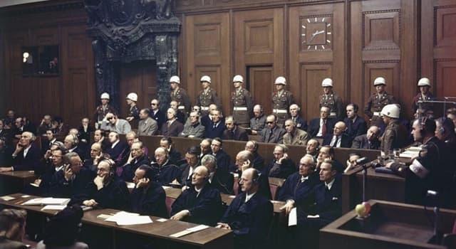 Historia Pregunta Trivia: ¿En qué ciudad se llevó a cabo el primero y más famoso juicio tras la Segunda Guerra Mundial?