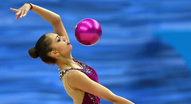 Deporte Pregunta Trivia: ¿En qué deporte se usan cuerdas, aros, pelotas, mazas y cintas?