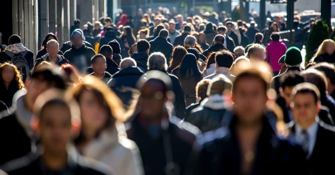 Geographie Wissensfrage: Welches Land hat die geringste Bevölkerung?