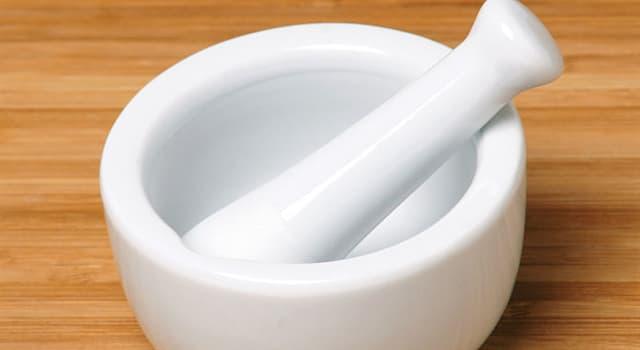 Cultura Pregunta Trivia: ¿Cómo se llama el utensilio usado para moler o machacar?