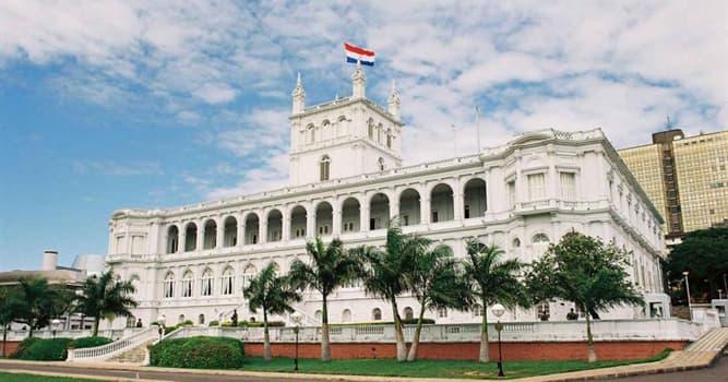Sociedad Pregunta Trivia: ¿Qué sistema político tiene Paraguay?