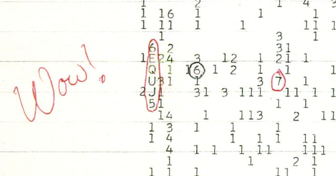 """Сiencia Pregunta Trivia: ¿Cuándo se recibió la señal de radio denominada """"¡Wow!"""" desde el espacio exterior?"""