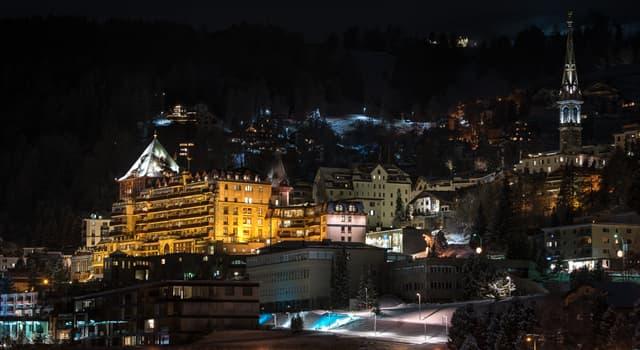 Geografía Pregunta Trivia: ¿En qué país se encuentra el centro turístico alpino de St. Moritz?