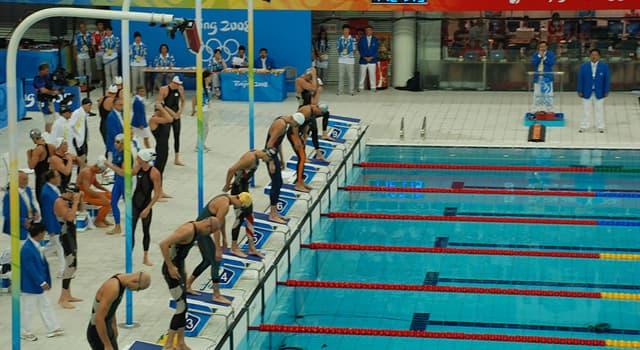 Deporte Pregunta Trivia: ¿Cuál de los siguientes no es un estilo de natación competitiva?
