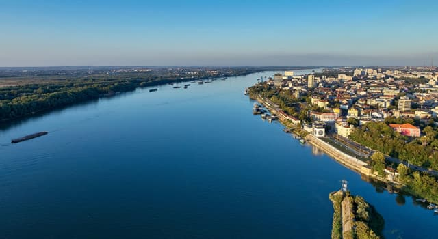 Geografía Pregunta Trivia: ¿Qué río bordea la mayor parte de la frontera entre Rumanía y Bulgaria?