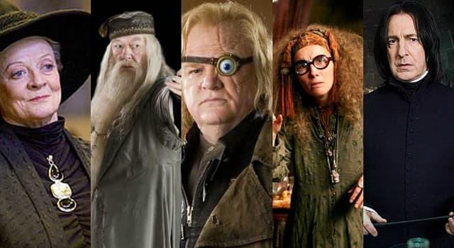 Películas Pregunta Trivia: ¿Quién interpretó a Severus Snape en las películas de Harry Potter?