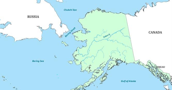 Geographie Wissensfrage: Wie weit ist Russland von Alaska entfernt?