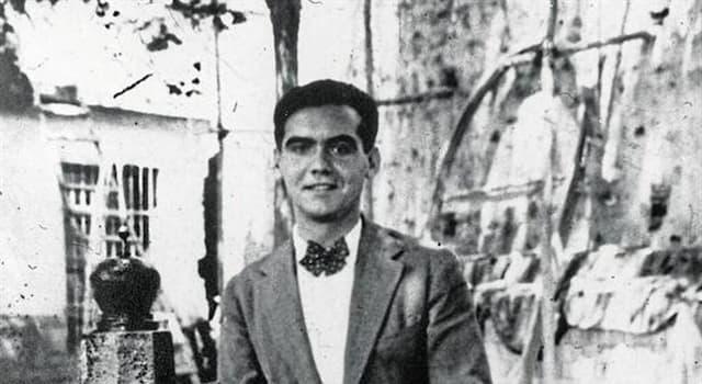 Cultura Pregunta Trivia: ¿A cuál de estos escritores dedicó una Oda el poeta español Federico García Lorca?