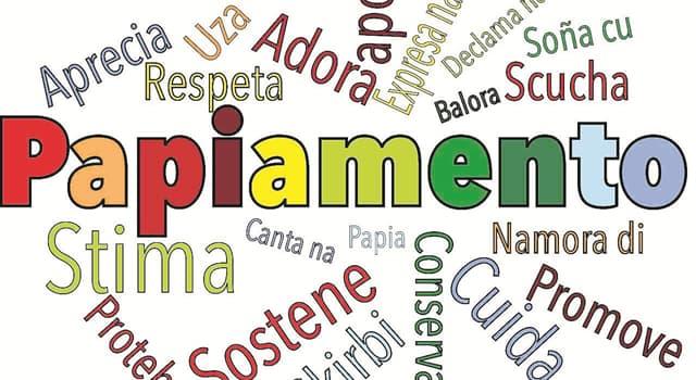 Naturaleza Pregunta Trivia: ¿A partir de qué año el papiamento es la lengua oficial de Aruba?