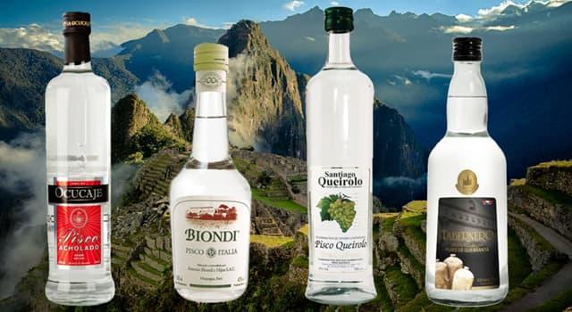 """Cultura Pregunta Trivia: ¿A qué método pertenece la fabricación de la bebida llamada """"Pisco""""?"""