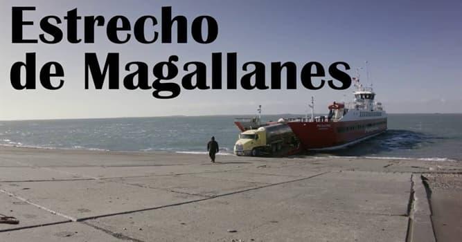 Geografía Pregunta Trivia: ¿A qué país pertenece el Estrecho de Magallanes?