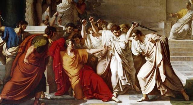 Historia Pregunta Trivia: ¿Qué dijo Julio César al momento de su asesinato en la obra de William Shakespeare?