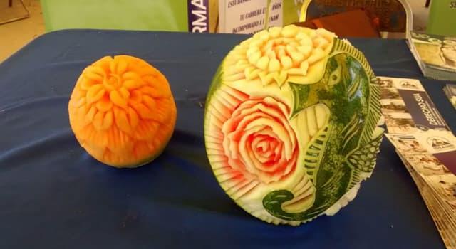 Cultura Pregunta Trivia: ¿Cómo se denomina el arte japonés en frutas y verduras?