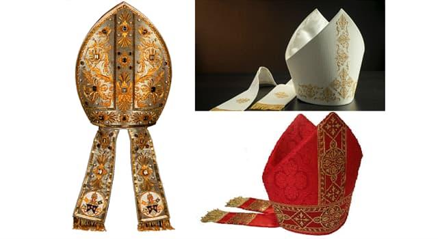 """Cultura Pregunta Trivia: ¿Cómo se llama el """"tocado"""" que usan los obispos en las fiestas solemnes?"""