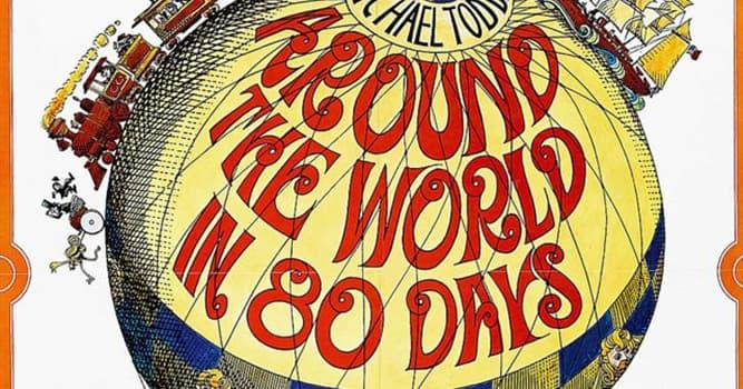 """Películas Pregunta Trivia: ¿Cómo se llamaba el protagonista de la película """"La vuelta al mundo en 80 días""""?"""