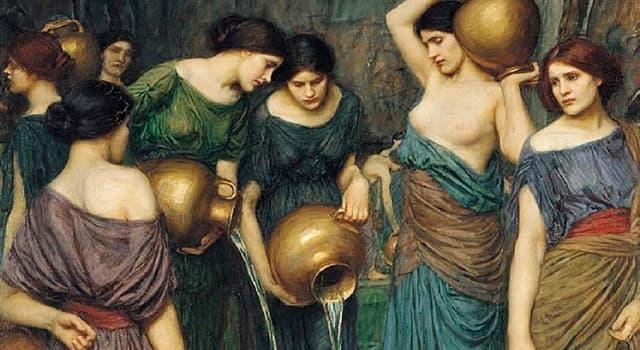 Historia Pregunta Trivia: ¿Cómo se llamaban las 50 hijas de un rey de Egipto, 49 de las cuales mataron a sus esposos la noche de bodas?