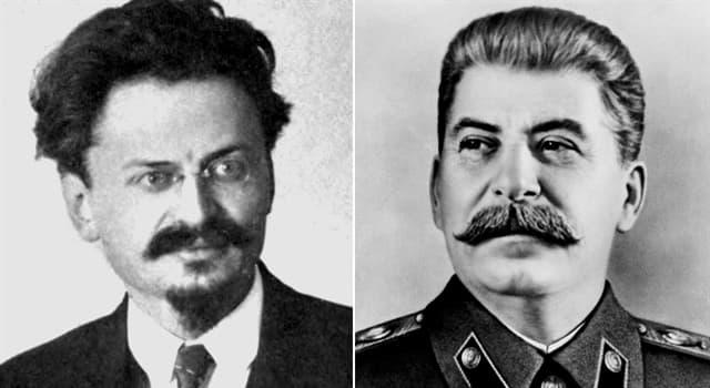Historia Pregunta Trivia: ¿Cómo y cuándo comenzó la enemistad entre Stalin y Trotski?