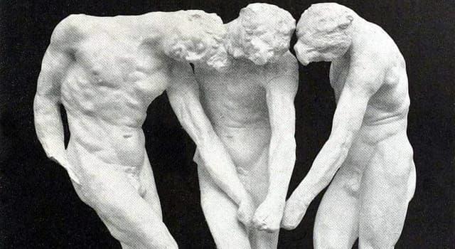 Cultura Pregunta Trivia: ¿Con qué nombre se conoce esta escultura de Auguste Rodin (1885)?