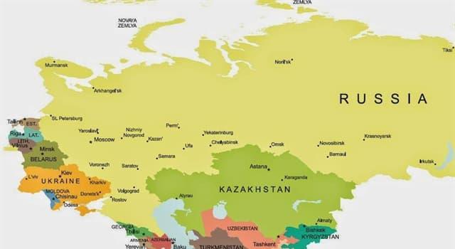 Geografía Pregunta Trivia: ¿Cuál de la siguientes es una ciudad transcontinental de Kazajstán?