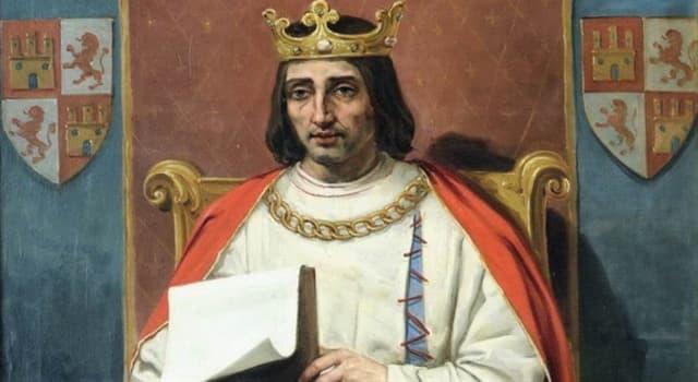 """Historia Pregunta Trivia: ¿Cuál de las siguientes afirmaciones sobre el rey castellano Alfonso X """"el Sabio"""" es cierta?"""