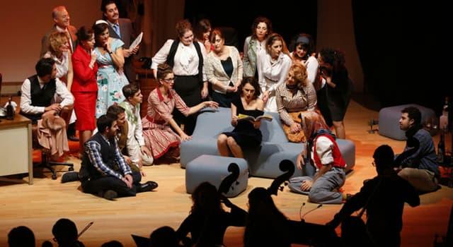 "Cultura Pregunta Trivia: ¿Cuál de las siguientes afirmaciones sobre la ópera ""El elixir de amor"" de Donizetti es cierta?"
