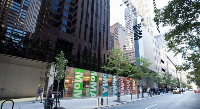 Cultura Pregunta Trivia: ¿Cuál de las siguientes opciones sobre el MoMA de Nueva York es cierta?