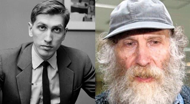 Cultura Pregunta Trivia: ¿Cuál era el nombre real de Bobby Fischer?
