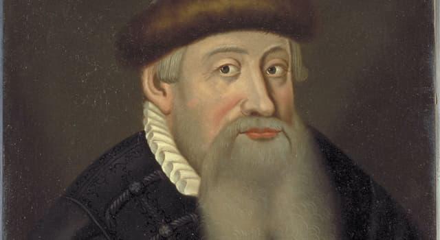 Historia Pregunta Trivia: ¿Cuál era la profesión de Johannes Gutenberg?