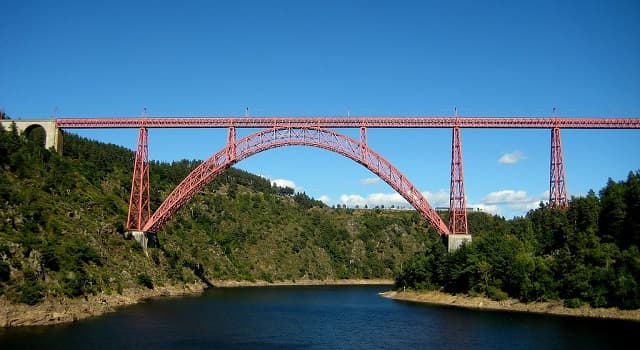 """Sociedad Pregunta Trivia: ¿Cuál era una caracteristica del """"viaducto de Garabit"""" construido por la compañía de Gustave Eiffel?"""