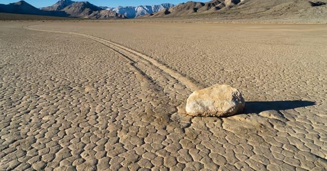 Cultura Pregunta Trivia: ¿Cuál es el misterio de las rocas viajeras del Valle de la Muerte?