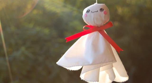 Cultura Pregunta Trivia: ¿Cuál es el nombre del muñeco tradicional que se suele colgar en las ventanas en los días de lluvia, en Japón?