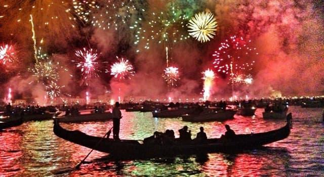 Cultura Pregunta Trivia: ¿Cuál es el origen de la Fiesta del Redentore de Venecia?