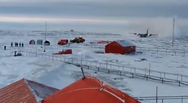 Cultura Pregunta Trivia: ¿Cuál es la base Antártica más antigua, todavía en funciones?
