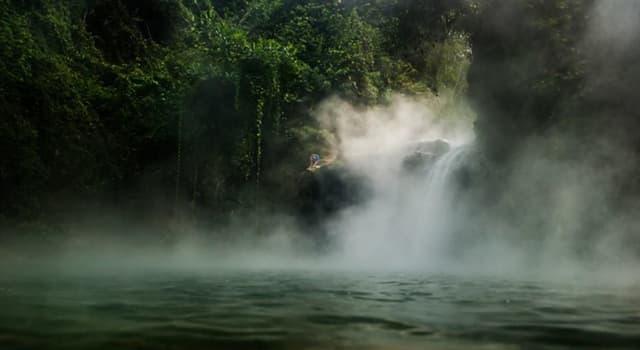 Cultura Pregunta Trivia: ¿Cuál es la característica distintiva del río peruano Shanay-timpishka?