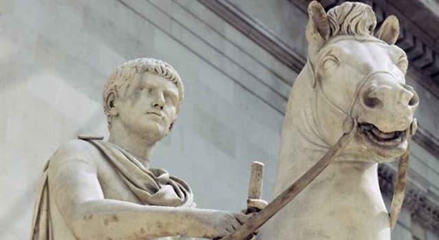 """Cultura Pregunta Trivia: ¿Cuál fue el """"botín de guerra"""" de Calígula en su """"batalla"""" contra Poseidón?"""