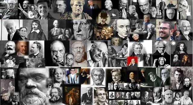 """Historia Pregunta Trivia: ¿Cuál fue el último filósofo de la """"Modernidad"""" y uno de los más importantes de su época?"""