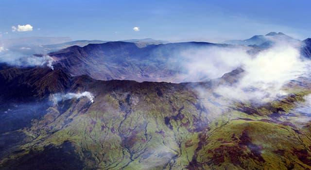 Historia Pregunta Trivia: ¿Cuál fue la mayor erupción volcánica de la que se tenga registro?